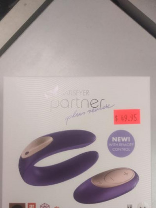 Satisfyer Partner Plus Remote